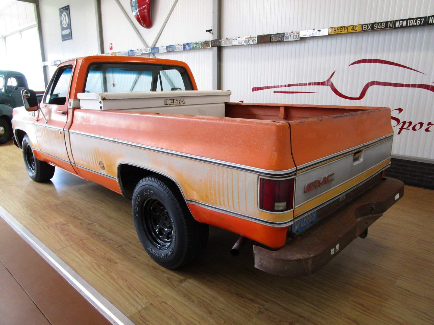 1976 GMC 15 Sierra Classic 350CU V8 Longbed Pick Up For Sale (picture 3 of 6)