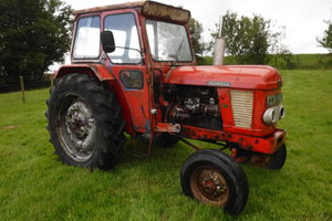 1967 NUFFIELD BMC 4/65 ALL WORKING ROAD REGISTERED TRACTOR SOLD