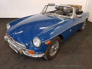 MGB blauw 1972  For Sale by Auction