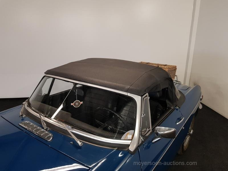 MGB blauw 1972  For Sale by Auction (picture 6 of 6)