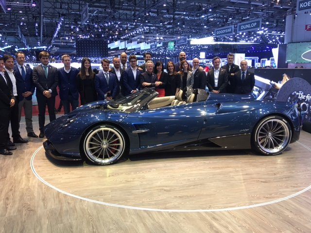 2019 PAGANI HUAYRA ROADSTER NEW LHD OR RHD For Sale (picture 1 of 6)