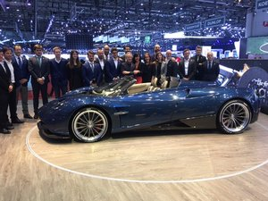 PAGANI HUAYRA ROADSTER NEW LHD OR RHD