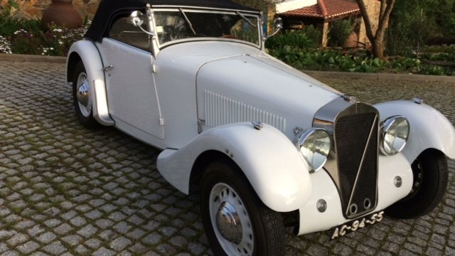 1934 Georges Irat MM Roadster - A gem! For Sale (picture 1 of 6)