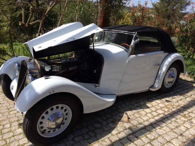 1934 Georges Irat MM Roadster - A gem! For Sale (picture 5 of 6)