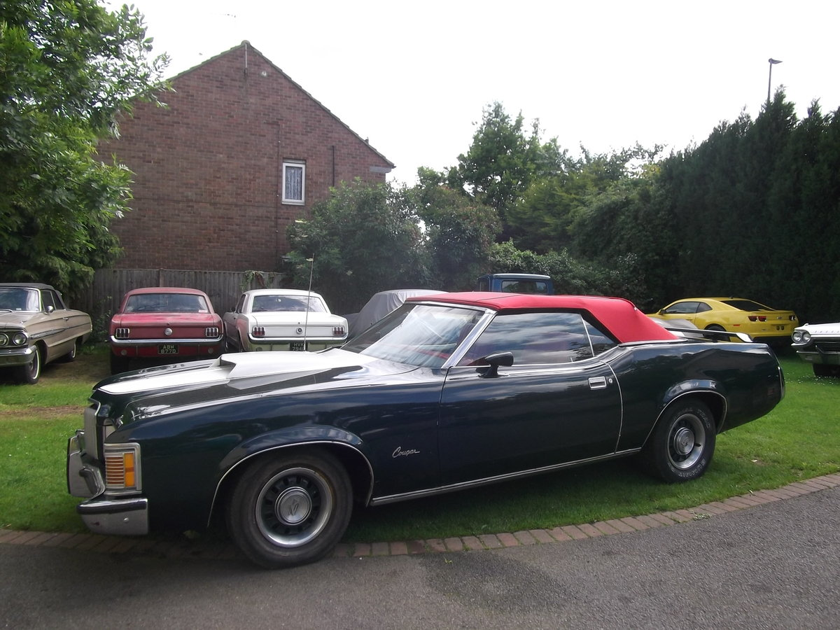 1972  Mercury Cougar XR7, Convertible 351 V8 Automatic,  For Sale (picture 2 of 6)