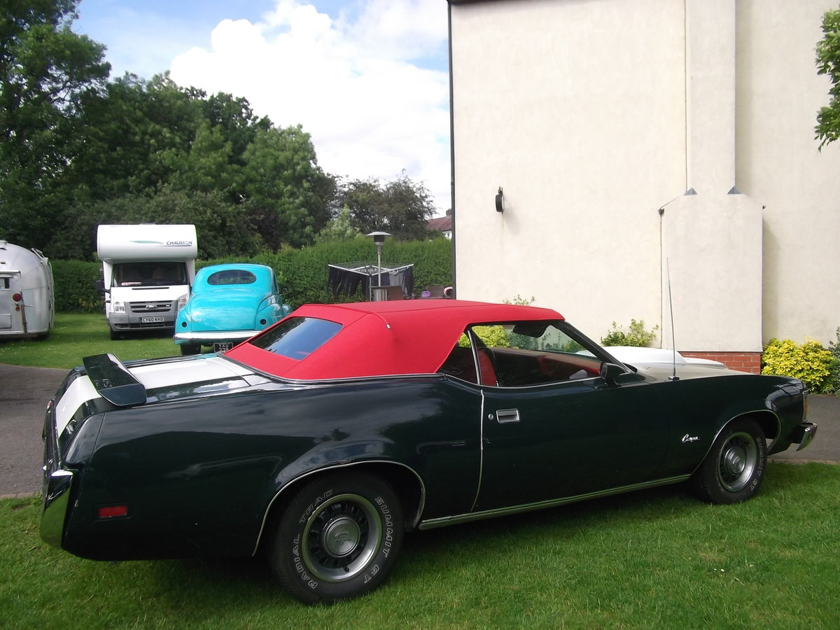 1972  Mercury Cougar XR7, Convertible 351 V8 Automatic,  For Sale (picture 6 of 6)