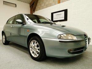 2003 Alfa Romeo 147 Lusso 1.6 Twin Spark + Just 59k+ Nice History