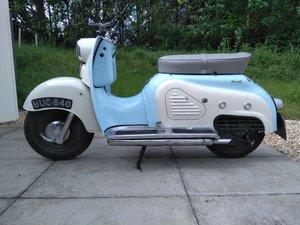1957 Zundapp Bella R154 Classic Scooter SOLD