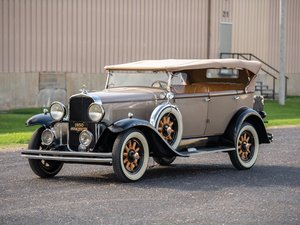 1930 Marquette 35 Sport Phaeton For Sale by Auction
