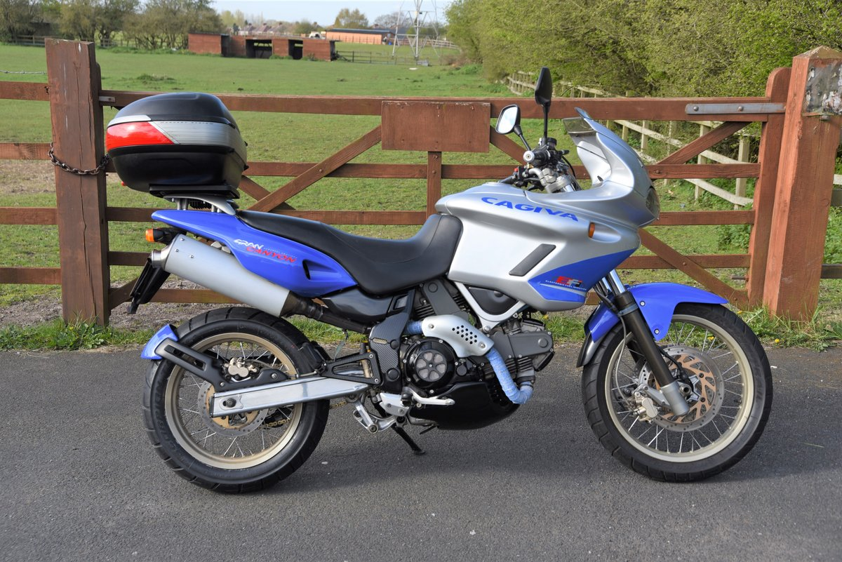 2000 Cagiva Relaxed comfortable perfect touring machine For Sale (picture 1 of 6)