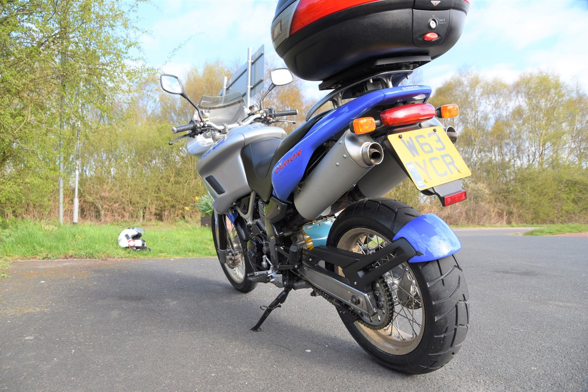 2000 Cagiva Relaxed comfortable perfect touring machine For Sale (picture 4 of 6)