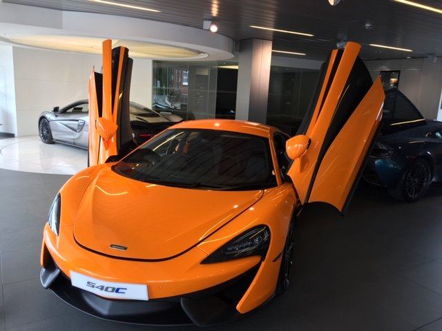 2017 Mclaren 540C V8 SSG For Sale (picture 2 of 6)