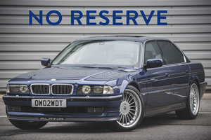 1998 Alpina B12 5.7 LWB - Fabulous & Low Mileage - on The Market For Sale by Auction