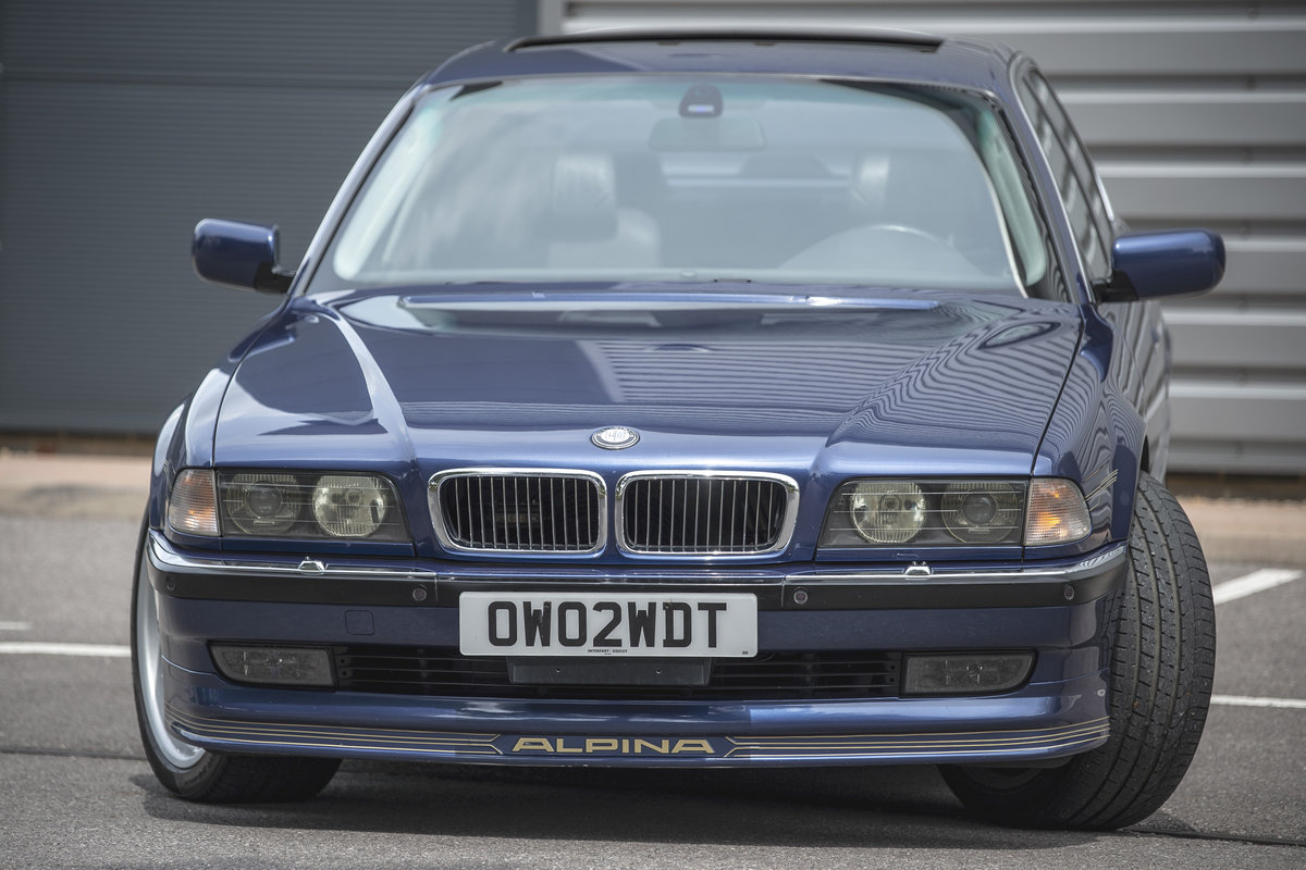 1998 Alpina B12 5.7 LWB - Fabulous & Low Mileage - on The Market SOLD by Auction (picture 3 of 6)