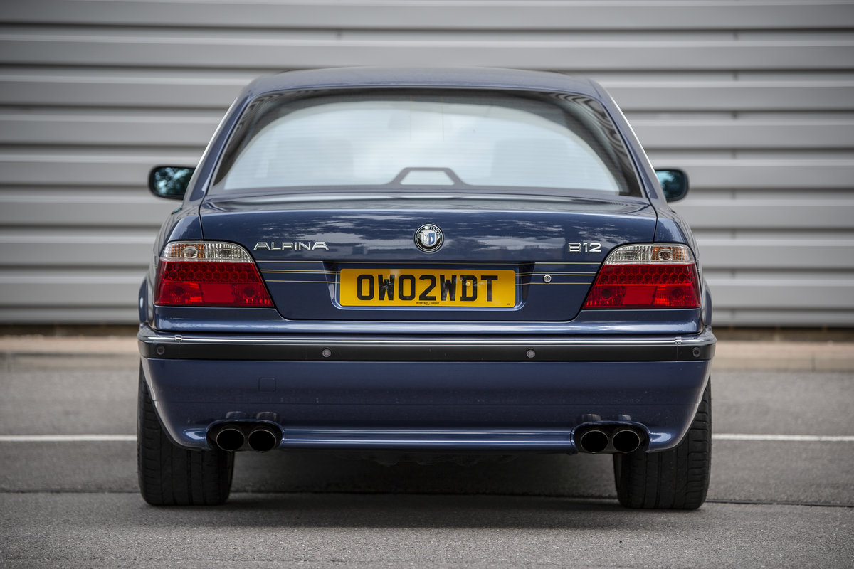 1998 Alpina B12 5.7 LWB - Fabulous & Low Mileage - on The Market SOLD by Auction (picture 4 of 6)