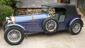1990 Teal Bugatti Type 35 - 4 seater For Sale
