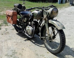 Zundapp DB200 1936 camo WL For Sale