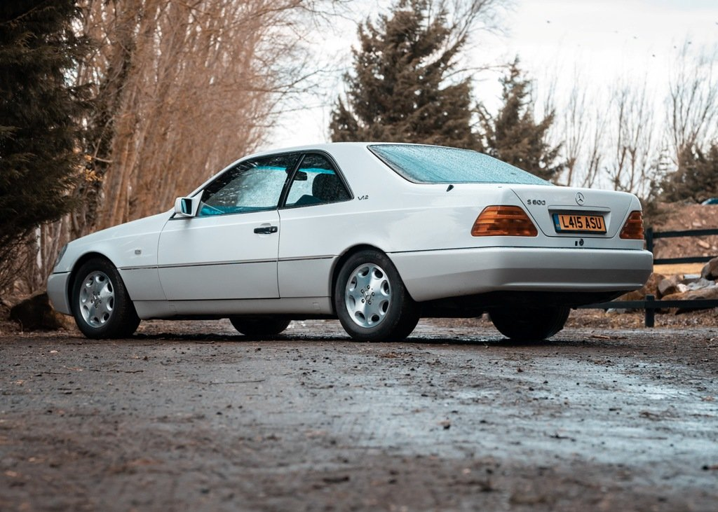1993 Mercedes-Benz 600 SEC SOLD by Auction | Car And Classic