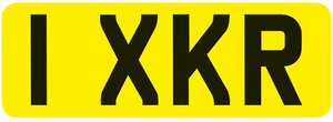 """Registration Number """"1XKR"""" For Sale by Auction"""