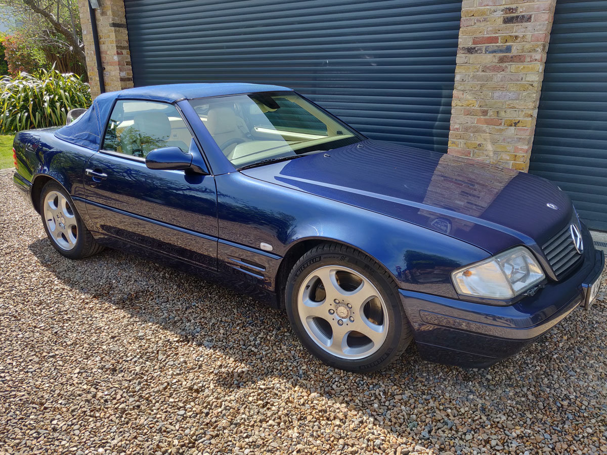 2000 Mercedes-Benz SL500 For Sale by Auction (picture 1 of 4)