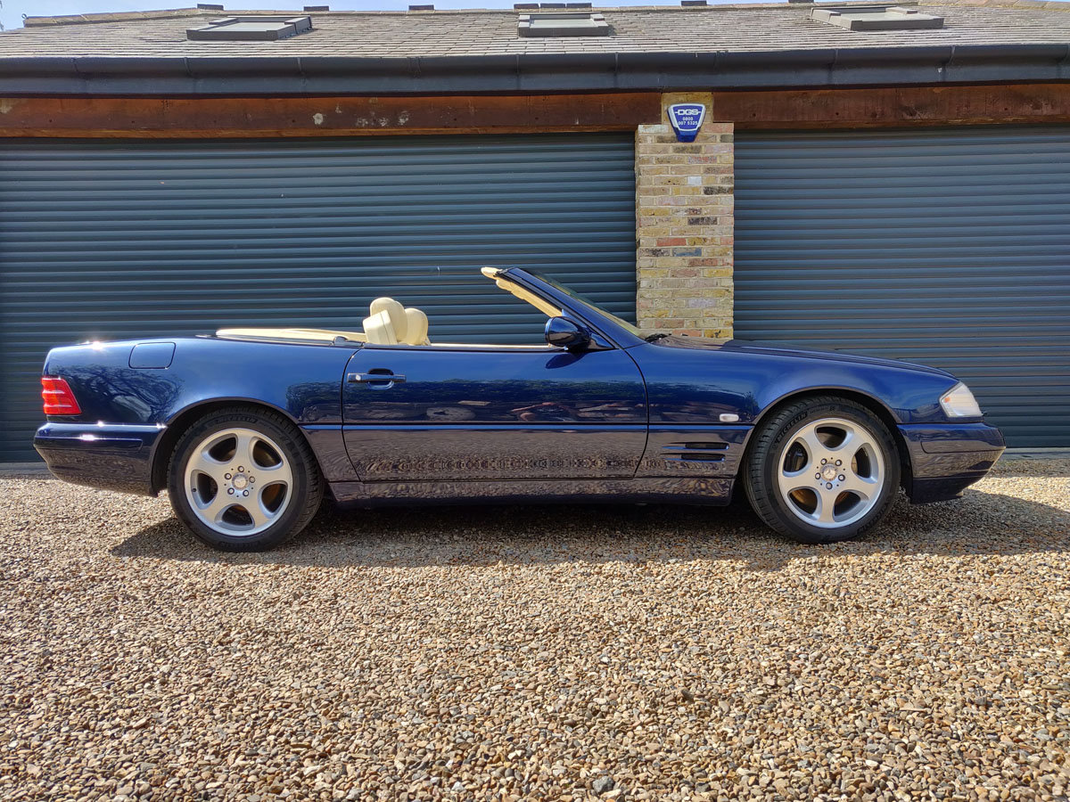 2000 Mercedes-Benz SL500 For Sale by Auction (picture 2 of 4)