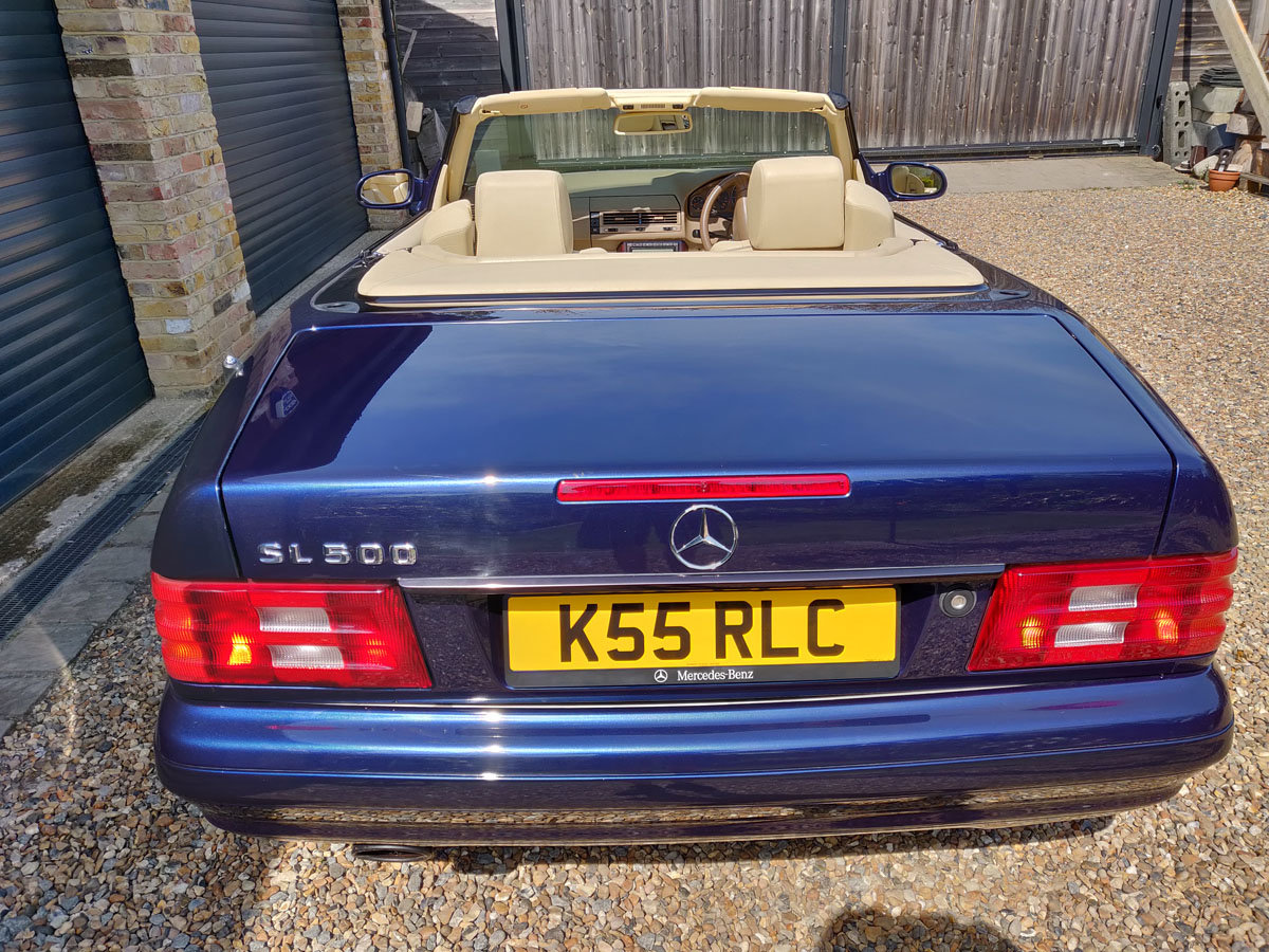 2000 Mercedes-Benz SL500 For Sale by Auction (picture 4 of 4)