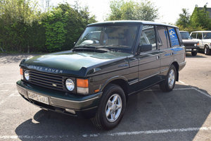 1995 Range Rover SE Brooklands For Sale by Auction