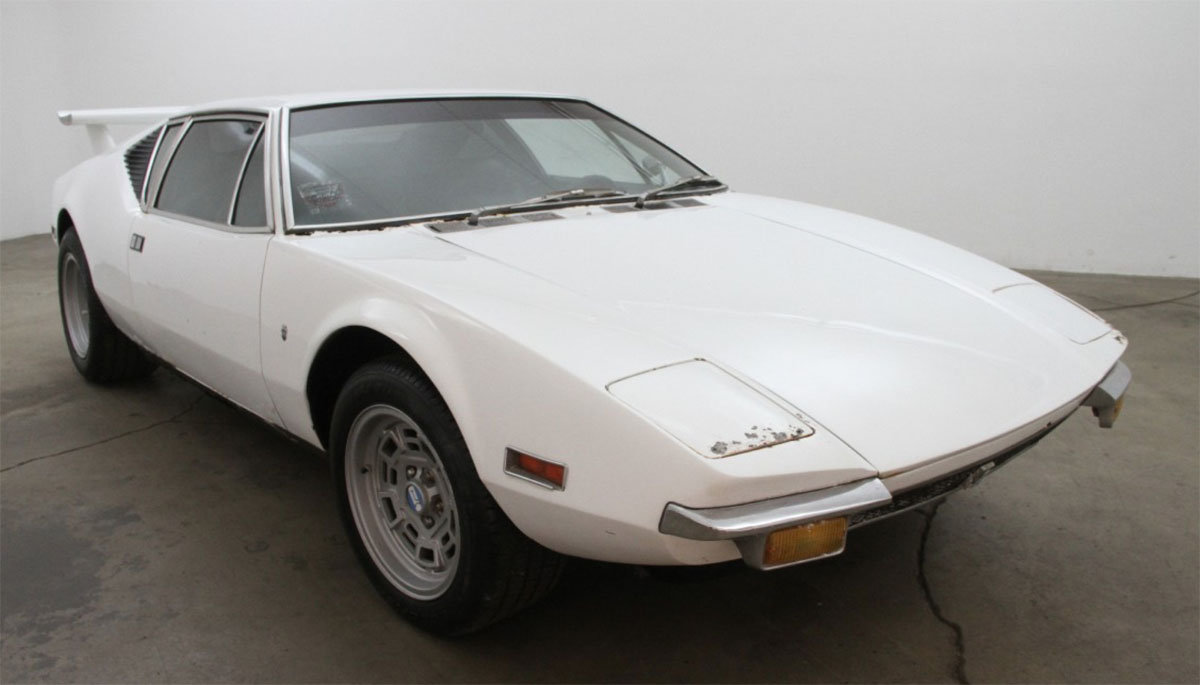 1972 De Tomaso Pantera Pre-L For Sale by Auction (picture 1 of 4)