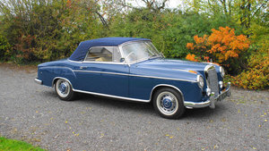 1960 Mercedes 220SE Cabriolet For Sale by Auction