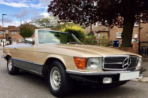 1981 Mercedes-Benz 500 SL For Sale by Auction