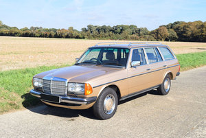 1985 Mercedes W123 230 TE For Sale by Auction