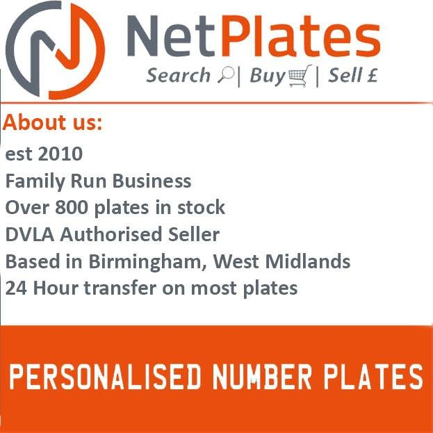 ROB 475M PERSONALISED PRIVATE CHERISHED DVLA NUMBER PLATE For Sale (picture 2 of 5)