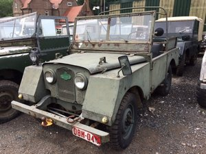 1952 May Break - Running 2 Siamese Litre, LR 80 Bulkhead etc For Sale