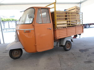 1976 Moto carro d'epoca Piaggio Ape 400 R. del 1978. For Sale