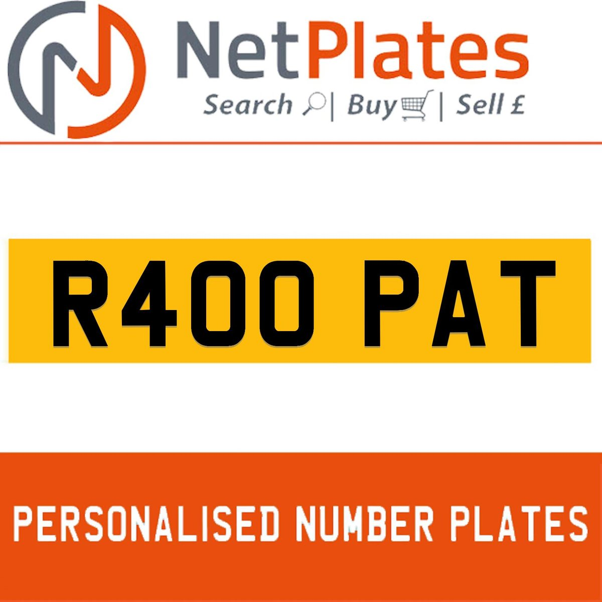 R400 PAT PERSONALISED PRIVATE CHERISHED DVLA NUMBER PLATE For Sale (picture 1 of 5)