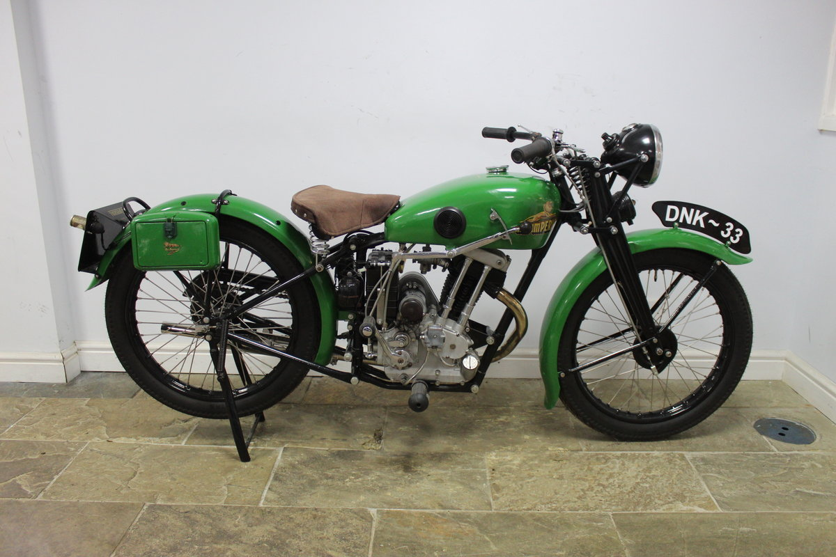 1937 New Imperial Model 23 150 cc Four stroke Lightweight  , For Sale (picture 1 of 6)