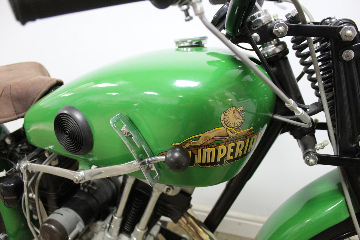 1937 New Imperial Model 23 150 cc Four stroke Lightweight  , For Sale (picture 3 of 6)
