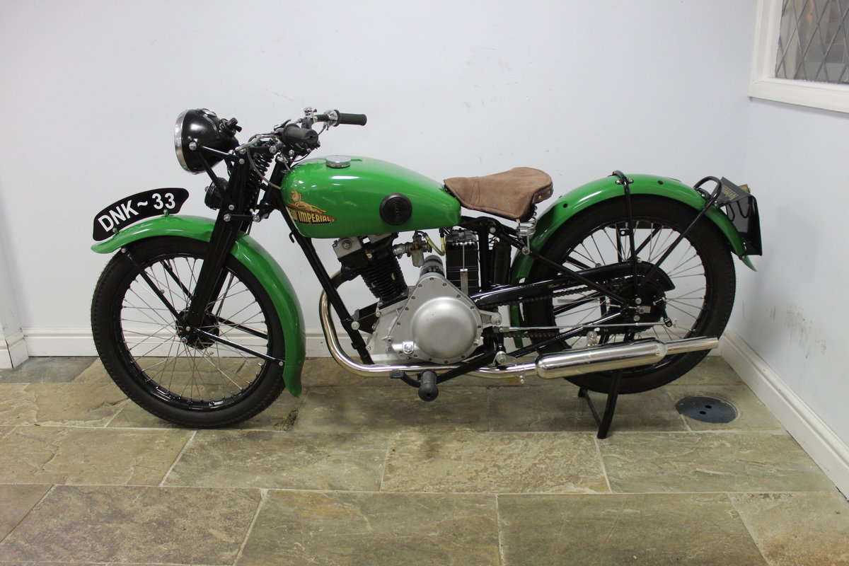 1937 New Imperial Model 23 150 cc Four stroke Lightweight  , For Sale (picture 5 of 6)