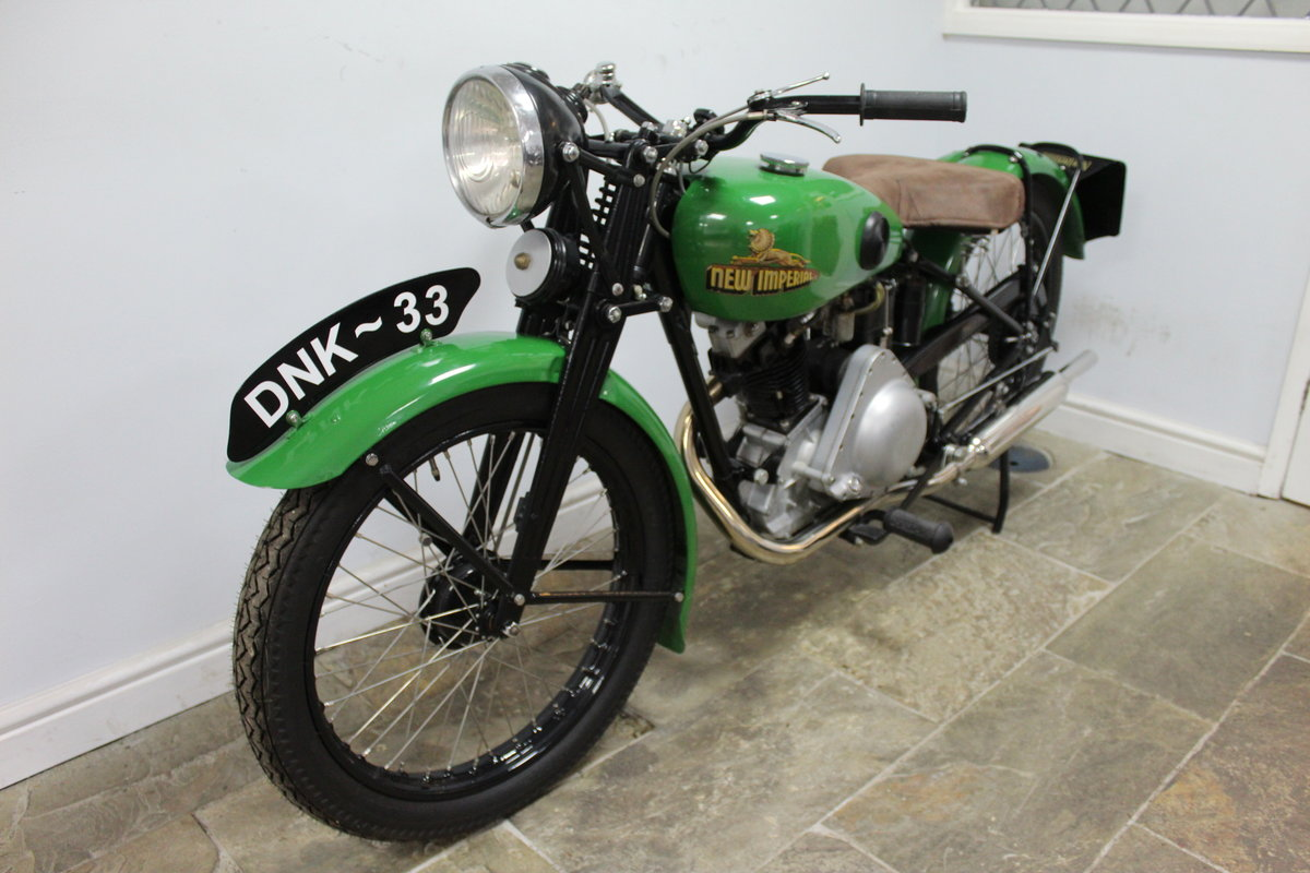 1937 New Imperial Model 23 150 cc Four stroke Lightweight  , For Sale (picture 6 of 6)