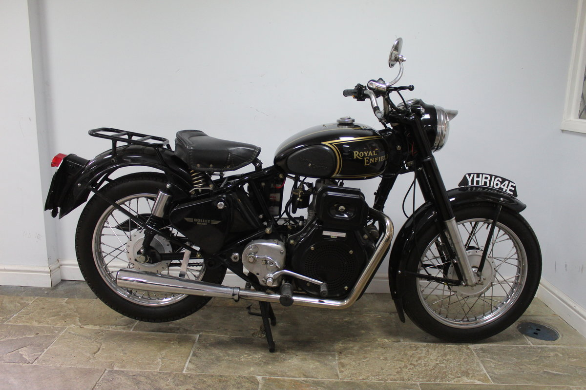 1967 Royal Enfield Bullet 456cc Diesel  , YES DIESEL  For Sale (picture 1 of 6)
