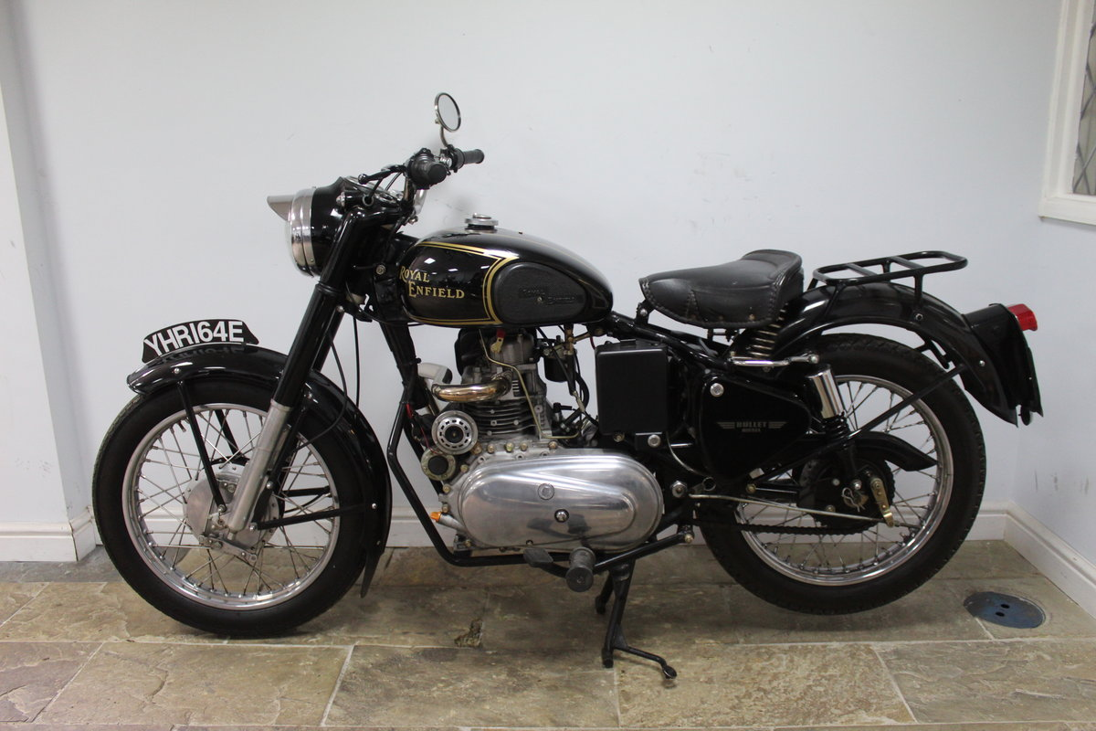 1967 Royal Enfield Bullet 456cc Diesel  , YES DIESEL  For Sale (picture 3 of 6)