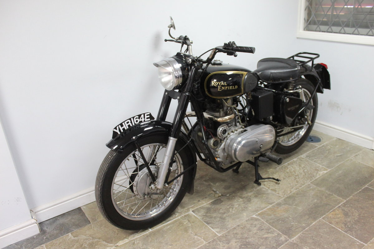 1967 Royal Enfield Bullet 456cc Diesel  , YES DIESEL  For Sale (picture 4 of 6)