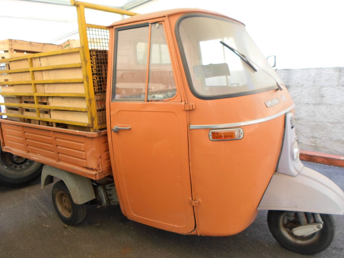 1976 Moto carro d'epoca Piaggio Ape 400 R. del 1978. For Sale (picture 2 of 6)