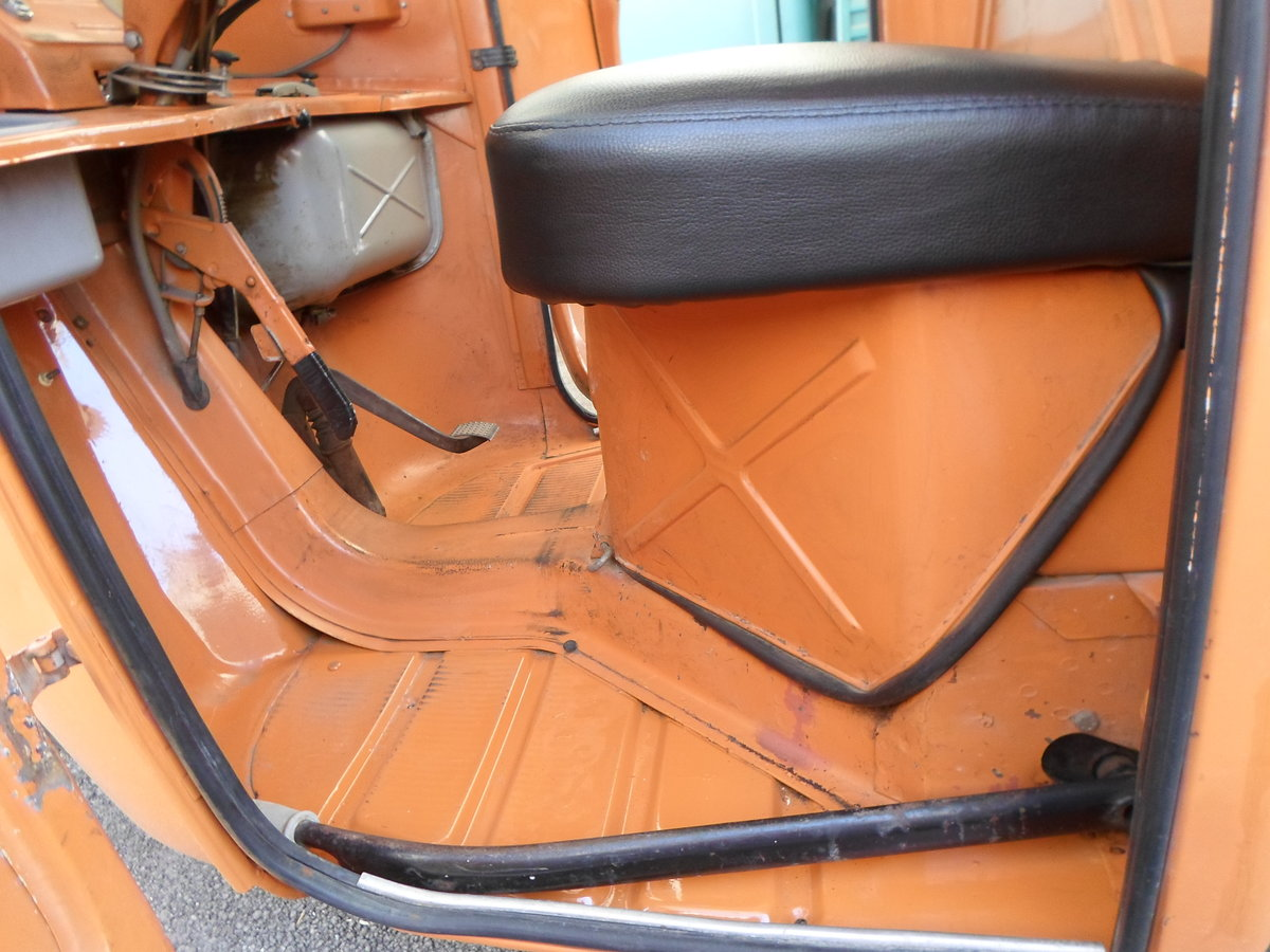 1976 Moto carro d'epoca Piaggio Ape 400 R. del 1978. For Sale (picture 4 of 6)
