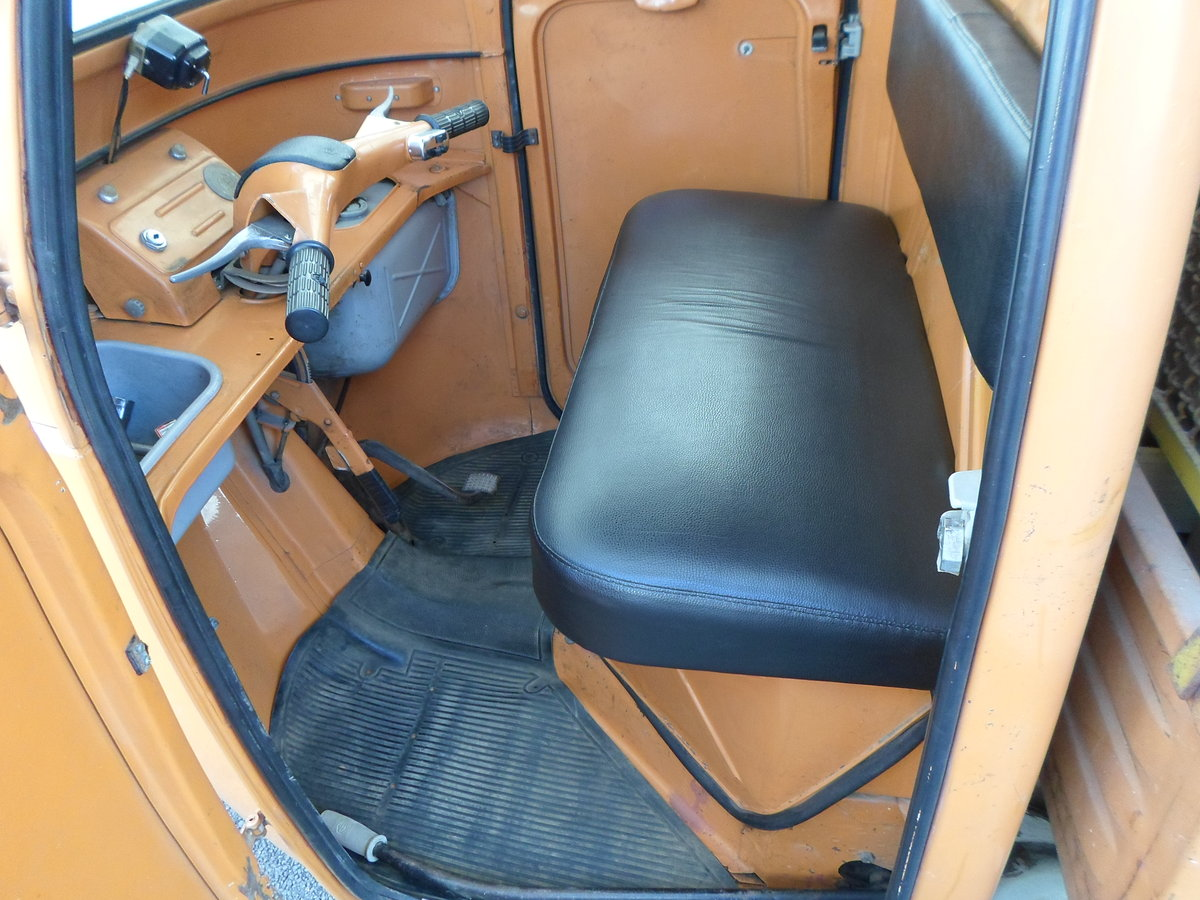 1976 Moto carro d'epoca Piaggio Ape 400 R. del 1978. For Sale (picture 5 of 6)