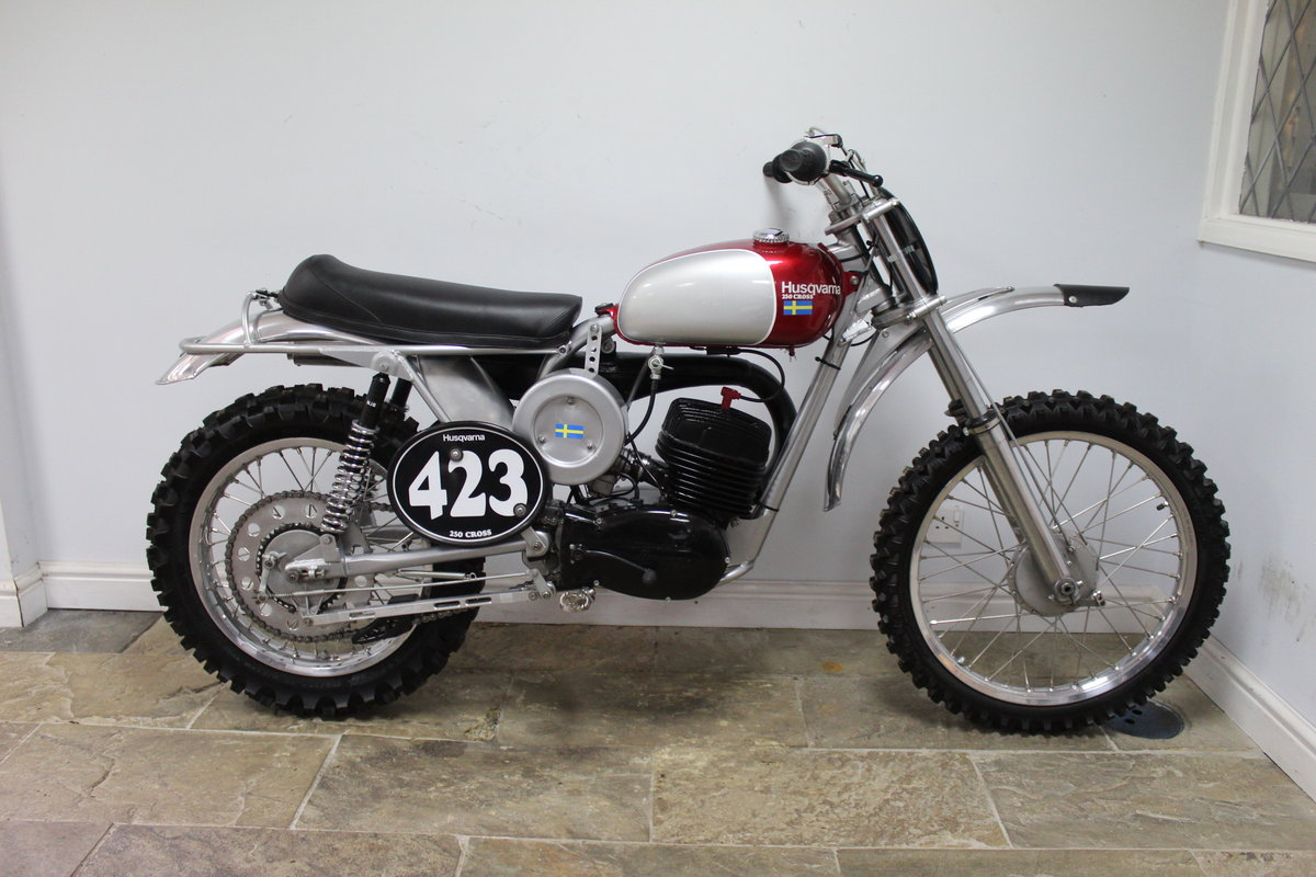 1967 Huskvarna 250 cc Two Stroke  SOLD (picture 1 of 6)