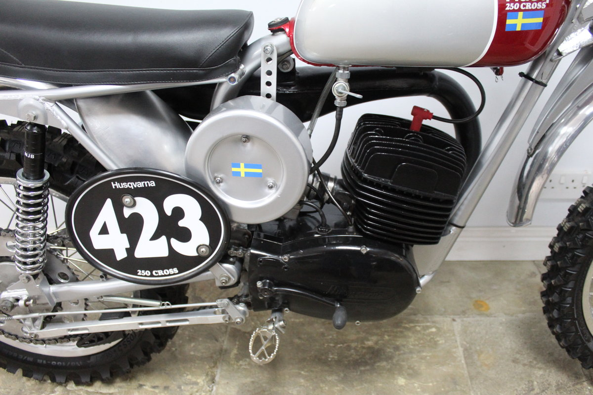 1967 Huskvarna 250 cc Two Stroke  SOLD (picture 3 of 6)