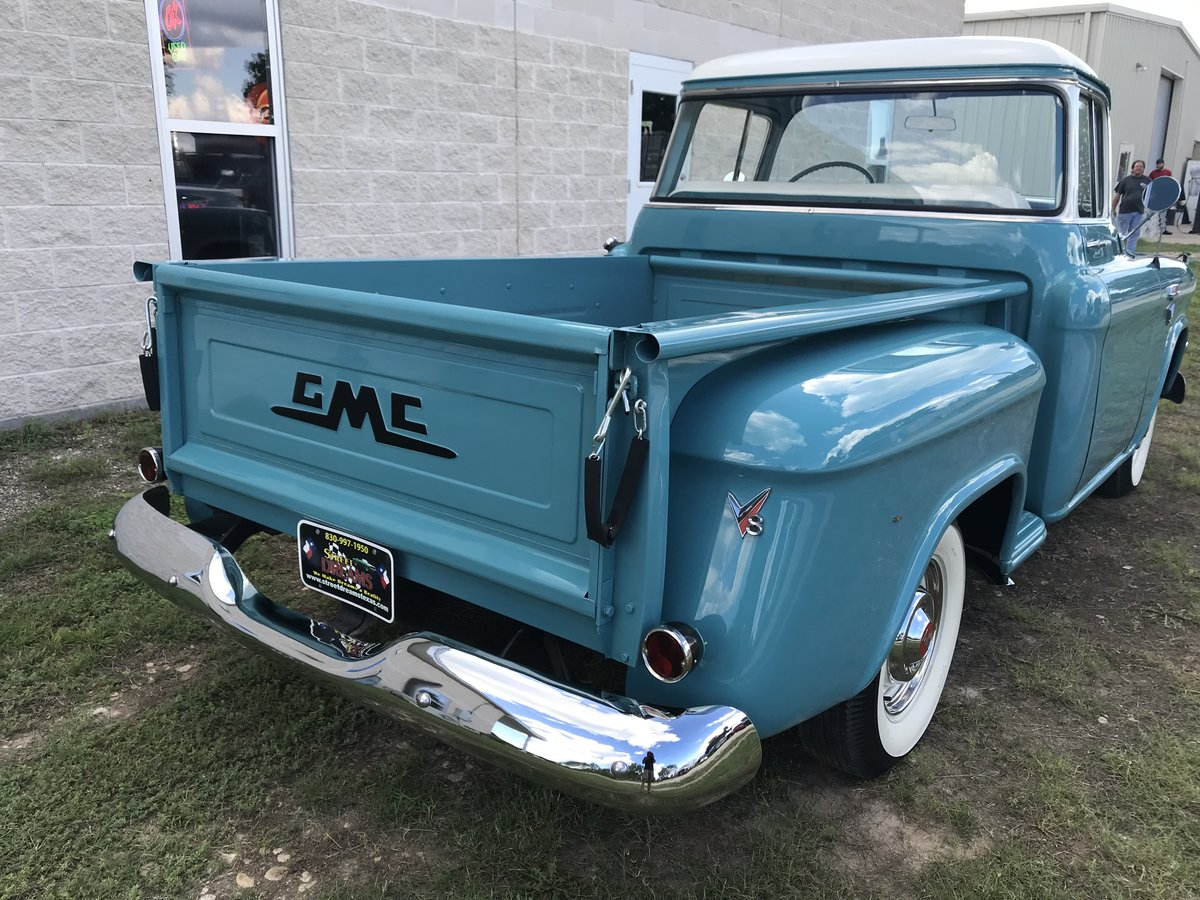 1957 GMC 100 BIG WINDOW V8 AUTO AM RARE AND NICE SOLD (picture 2 of 6)