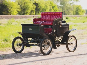1902 Grout Model H Steam Runabout