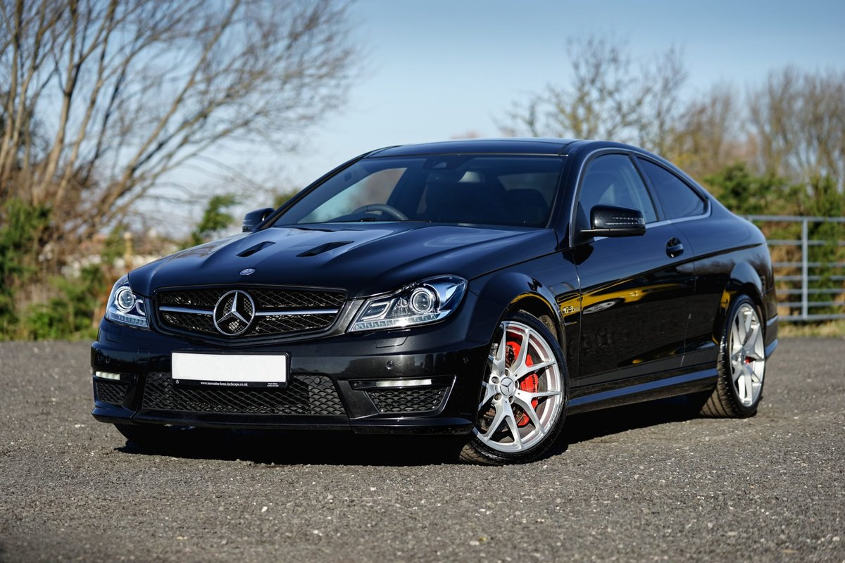 2013 Mercedes-Benz AMG C63 6.3 MCT 507 Edition Coup SOLD (picture 1 of 6)